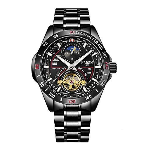 Relojes de Hombre/Hombre Reloj primeras Marcas Hombres Reloj de Pulsera Militar Militar a Prueba de Agua para Hombre Tourbillon Reloj Hombre