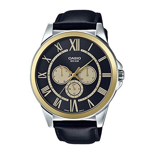 Casio Mtp-e318l-1bvdf Reloj Analógico para Hombre Colección Enticer Caja De Metal Esfera...