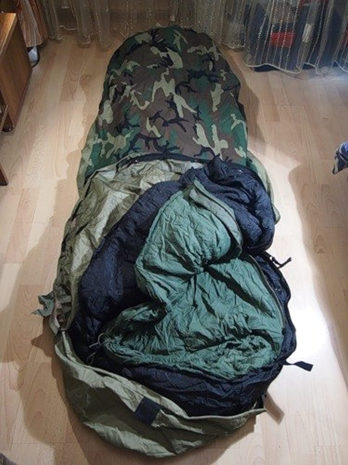 US Military 4PC Weather Resistant Modular Sleep System Waterproof GoreTex Cover