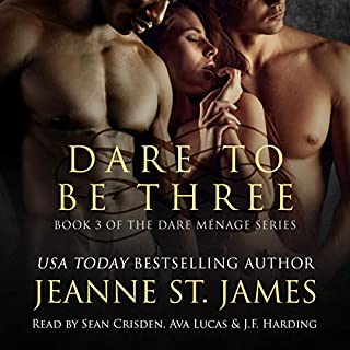 Dare to be Three audiobook cover art