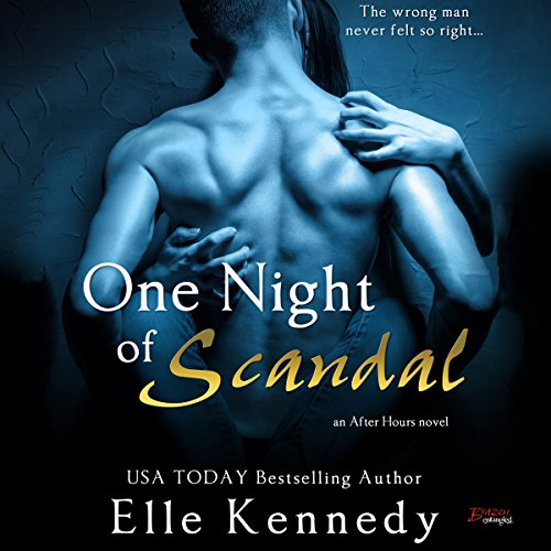 One Night of Scandal audiobook cover art