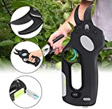 Pruning Shears,Electric Pruning Shears, SK5 Alloy Blade Rechargeable Battery Powered Professional Cordless