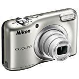 Nikon COOLPIX A10 16.1MP 5x Zoom NIKKOR Glass Lens Digital Camera (26518B) Silver - (Renewed)