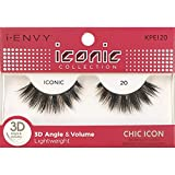 i Envy by Kiss iconic 3D Angle & Volume Lashes CHIC ICON 20 (3 Pack)
