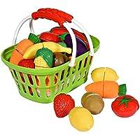 Playkidz Súper Duradero Saludable Frutas y Verduras Baske, Verde, Multicolor (PK3040)
