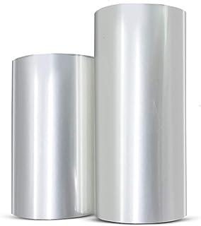 HUELE 2 Rolls Mousse Cake Collar Transparent Membrane Baking Surrounding Edge Tape Perimeter Decorating Acetate Sheet (8cm...