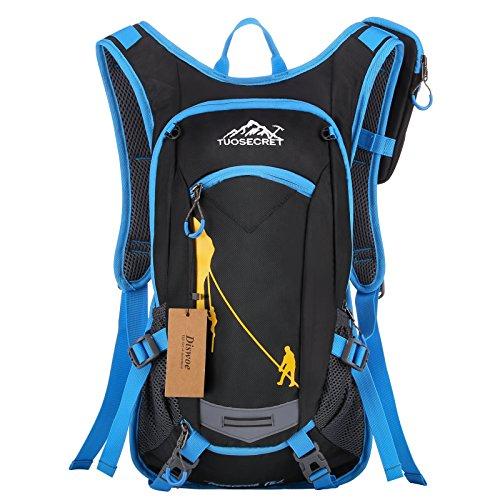 2. Diswoe Bicicleta Mochila 18L – Una mochila para ciclistas y excursionistas