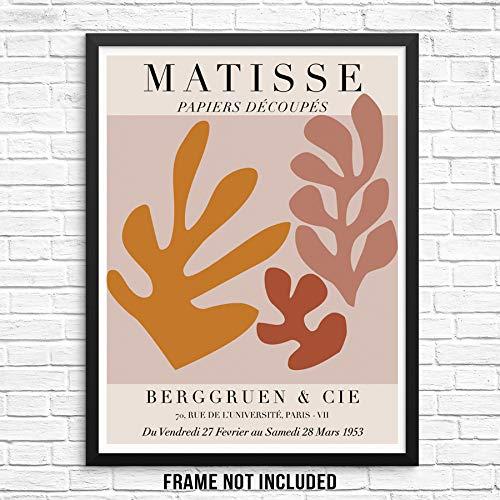 Papiers Découpés Matisse Art Gallery Exhibition Poster 11