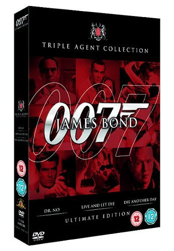 James Bond: Ultimate Red Triple Agent Collection [DVD] [2006] [1962]