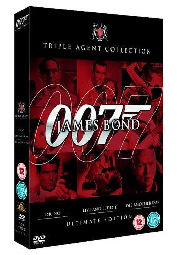James Bond: Ultimate Red Triple Pack (3 Dvd) [Edizione: Regno Unito] [Edizione: Regno Unito]