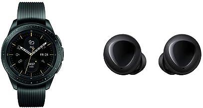 Samsung Galaxy Smartwatch (42mm) Midnight Black (Bluetooth) SM-R810NZKAXAR – US Version with Warranty & Galaxy Buds, Bluet...