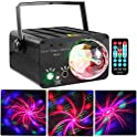 QYSQ RGB Mixed Effects Laser Magic Ball Sound Activated LED Stage Lights