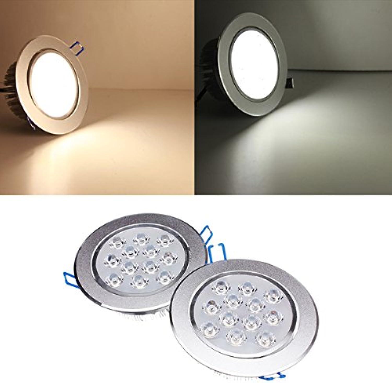 QIZIANG 12W Dimmable Bright LED Deckeneinbauleuchte 85-265V 85-265V 85-265V Hot (Farbe   Weiß) B07KV9JQ11  | Erschwinglich  5eeb98