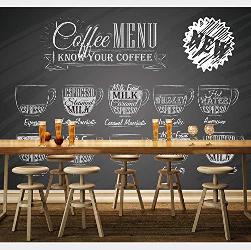 Fototapeten 3D Kaffee Lodge Moderne Wandbilder Tapeten Wohnkultur Für Küche Büro Schlafzimmer 140CMx100CM