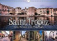 Saint Tropez - Early Morning Street Photography (Wandkalender 2022 DIN A4 quer): Einzigartige Aufnahmen morgens um 6. (Monatskalender, 14 Seiten )
