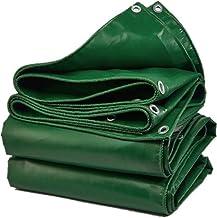 TidLT Planen outdoor/tuin - gereedschap regenbestendig plastic doekje metalen gesp voor comfortabel vastzetten