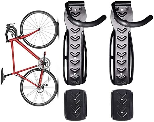 Dirza Bike Wall Mount Rack with Tire Tray Vertical Bike Storage Rack for Indoor Garage Shed product image