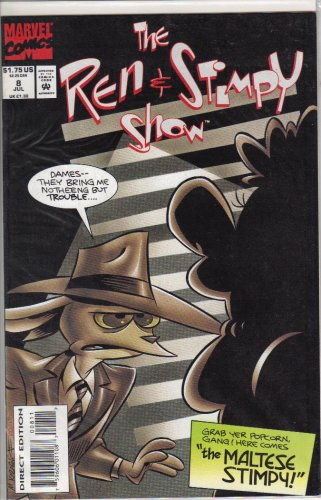 The Ren & Stimpy Show #8 Comic Book by Ren & Stimpy