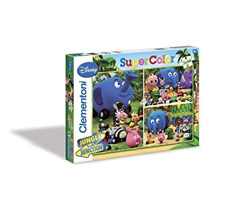 Clementoni - Puzzle Jungle Junction 3X 48 25174.2