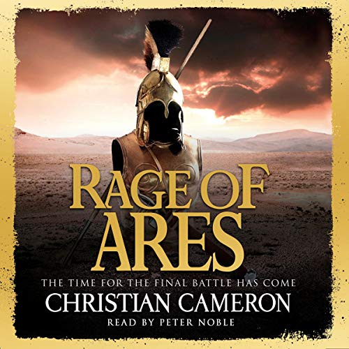 Rage of Ares audiobook cover art