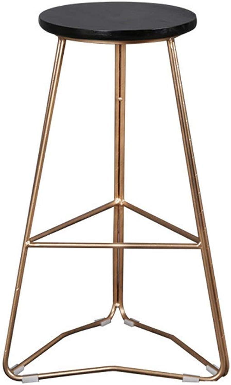 25  29  Bar Stool with Metal Legs Bar Chair Home Cafe High Chair Creative Triangle Chair Max. Load 440lb