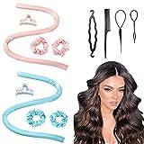 Tiktok Hair Rollers For Long Hair Curlers Heatless...