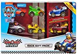 Paw Patrol True Metal Ready Race Rescue Gift Pack Exclusive Diecast Car 6-Pack