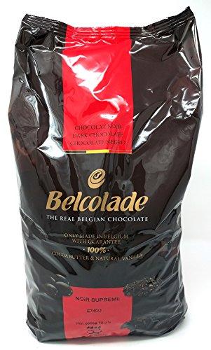 Belcolade 70,5% Extra Bitter Dunkel Schokolade Easimelt Chips 5kg