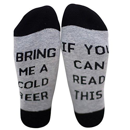 ✿ MATERIALE QUALITA - Questi calzini sono fatti con alta qualità, accogliente, morbido, elastico e traspirante. Odore libero, igroscopico, con rilascio di sudore e medio spessore. ✿ DIVERTENTE E MODA - le parole sul fondo catturano gli occhi delle pe...