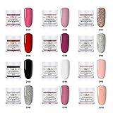 MezoJaoie Dipping Nail Powder Starter Kit, Dipping Nail Powder Set Nail Art para el cuidado diario de las uñas