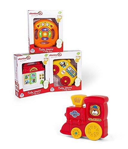 Globo Toys 5078 4 Assortis Vitamina _ G Essaye-Moi bébé Peluche Musicale
