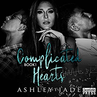 Complicated Hearts audiobook cover art