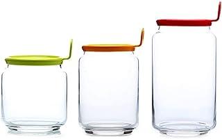 Anak Recipientes de Almacenamiento de Vidrio para Alimentos: el Juego Contiene pequeños frascos Reutilizables con