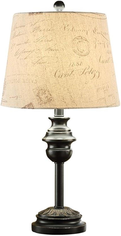 Amerikanisches Land retro Schlafzimmer Tischlampe Nachttischlampe Moderne minimalistische Schlafzimmer Wohnzimmer Studie Tischlampe B07DFH7L6Q     | Für Ihre Wahl