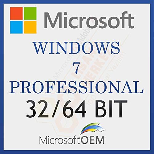 MS Windows 7 Professional | Avec Facture | Version complète, licence à vie initiale, code d'activation de la licence par courrier électronique et délai de livraison des messages: de 0 à 6 heures