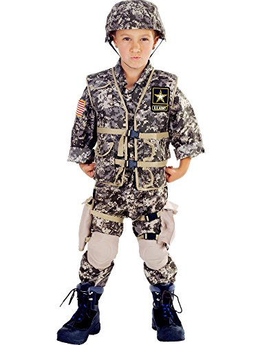 Deluxe US Army Ranger Kids Costume - Large