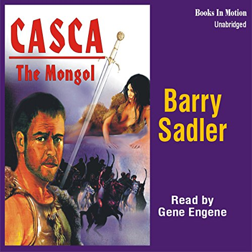 Casca: The Mongol: Casca Series #22 audiobook cover art