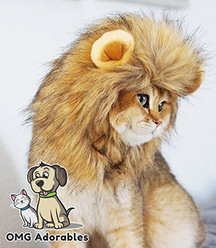 OMG Adorables Lion Mane Costume for Cat (Cat)