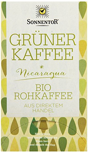 Sonnentor Grüner Kaffee bio, Doppelkammerbeutel, 1x 54 g