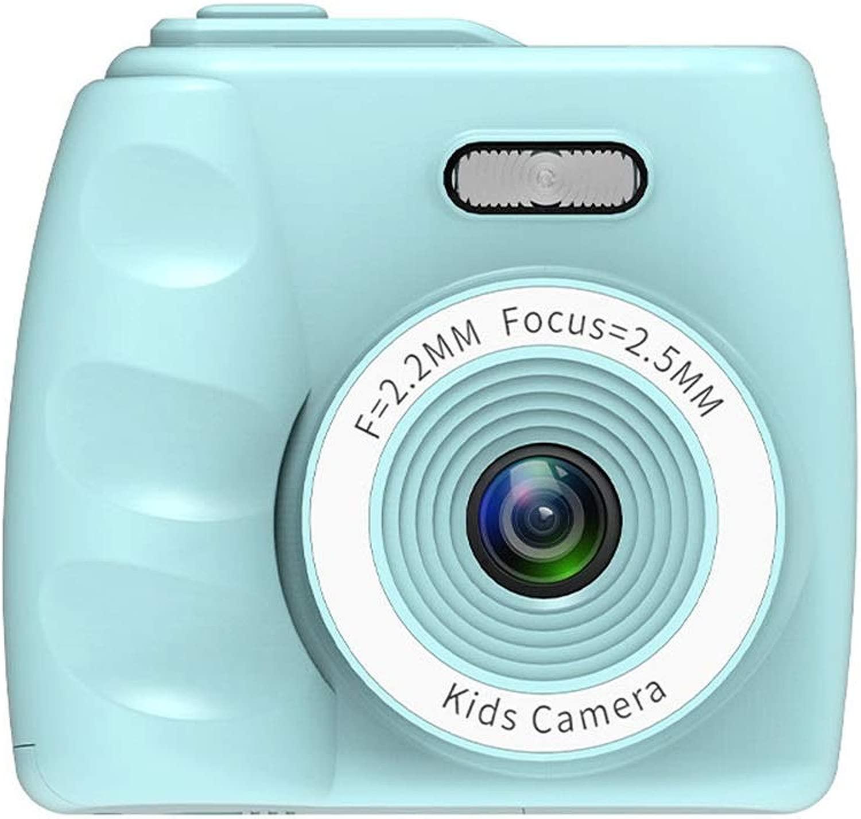 Liuzecai Fototelecamera per Bambini Bambino Mini videotelecamera Videotelecamera Regalo Ragazza Ragazzo Giocattolo Shell in Silicone per Bambini, Ragazzi, Ragazze (Coloree   verde, Dimensione   Naked Host)