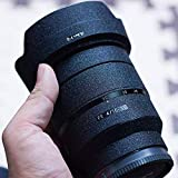 RAYANSPHOTO Lens Guard Skins Wrap Cover Decal Protector Wear Case for Sony Prime Lenses Series Matte Black (FE 90mm F2.8 G Macro)