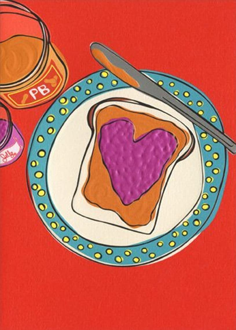 Peanut Butter & Jelly A*Press Foil & Embossed Anniversary Card