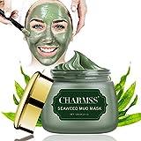 maschera di fango del mar morto, maschera viso idratante, maschera di comedone, per pulisce i pori e i punti neri, cura della pelle per la pelle secca e impura o grassa