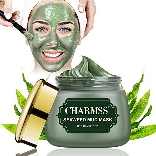 Algenmaske, Schlammmaske aus dem Toten Meer, Mitesser Maske, Tiefenreinigungsmaske,Anti Pickel, verjüngtes und feuchtigkeitsspendendes Gesicht und Körper. (120g)