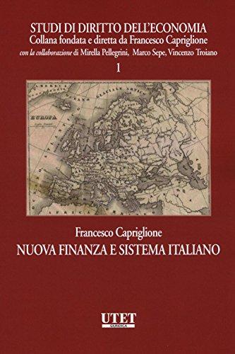 Nuova finanza e sistema italiano