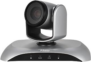 Aibecy ウェブカメラ web会議用カメラ 10倍光学ズーム HD画質 オートフォーカス 1080P 30fps 355°回転 リモコン付き USB接続 ビデオカメラ 天井マウント 即挿即用 取り付け便利