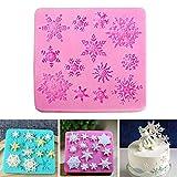 ZHENGCHENG Inicio Hornear Herramientas de cumpleaños Candy Easy Clean Manual de decoración Fondant Cake Mould