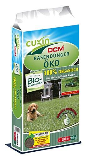 Cuxin Bio Rasendünger Öko, 10,5 kg