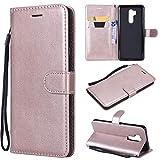 YYhin Phone Case Housse pour Coque LG G7 THINQ(6.1') - Fermeture magnétique Fentes pour Cartes,...