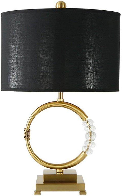 ZHANG NAN ●   tischlampe, tischlampe, tischlampe, Nordic Crystal Dekoration Gold amerikanischen Einfachheit Probe Wohnzimmer Schlafzimmer 42 & Times; 55cm nordische Kreativität ● B07PW6F9N7 | Schön geformt  e8bb99